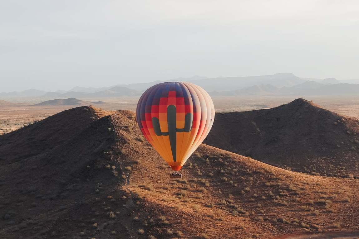 Hot Air Expeditions in the Phoenix Arizona area. As seen on Meg O. on the Go Scottsdale travel guide