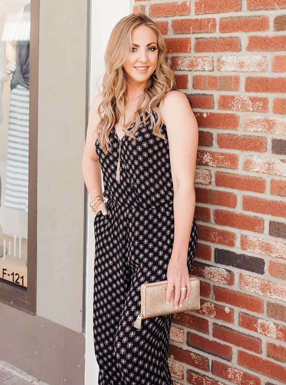 Houston lifestyle blogger Meg O. on the Go shares how to style a jumpsuit for summer