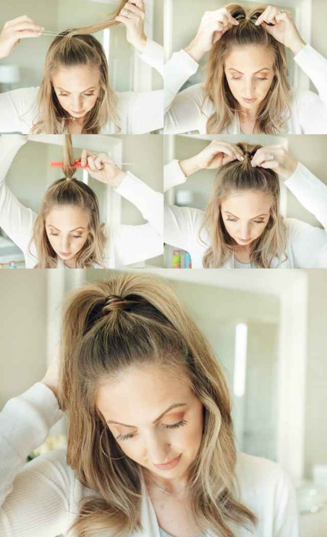 3 easy hairstyles for second day hair (and beyond) - fine