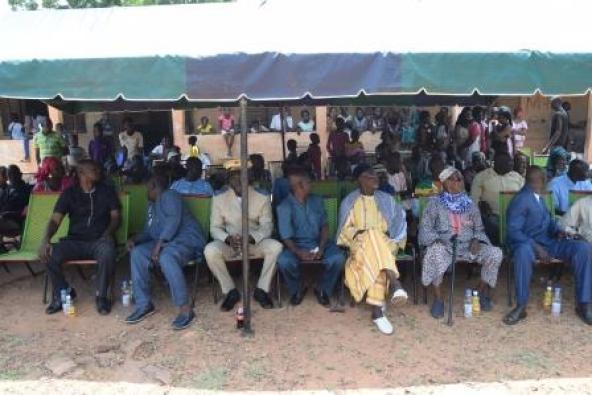 Présence-responsables-locaux-lancement-Douba-Koulikoro