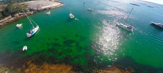 Rincones espectaculares de Galicia a vista de dron