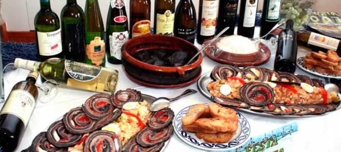 La fiesta de la lamprea de Arbo (Pontevedra), declarada interés turístico nacional