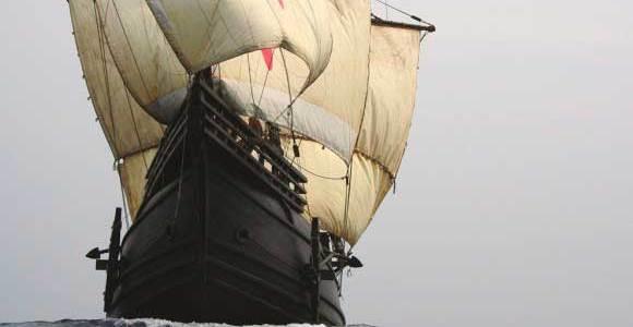 A Coruña recibe a la Nao Victoria que se podrá visitar durante todo el día