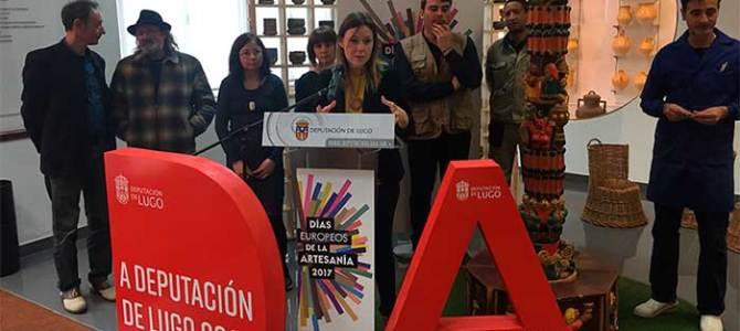 La Diputación de Lugo organiza rutas para dar a conocer los talleres de artesanos