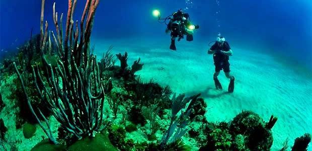 Presentan en A Toxa la primera ruta de turismo de buceo