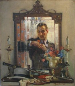 Leon Gordon Man in mirror