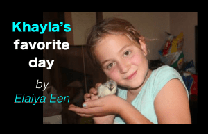 Khayla's Favorite Day (by Elaiya Een)