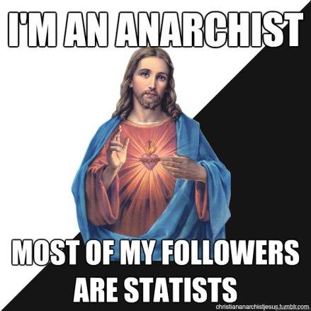 jesus anarchist