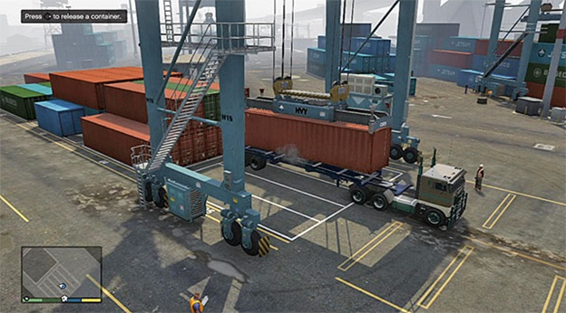 """Finally! Operating a sensitive crane with terrible controls is why I bought GTAV,"" said nobody ever."
