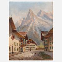Arno Lemke Munchen 1916 Germany Garmisch In Summer Catawiki