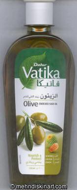 Dabur Vatika Olive Enriched Hair Oil Hair Oil Treatment