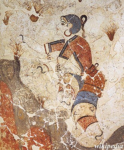 saffron in history