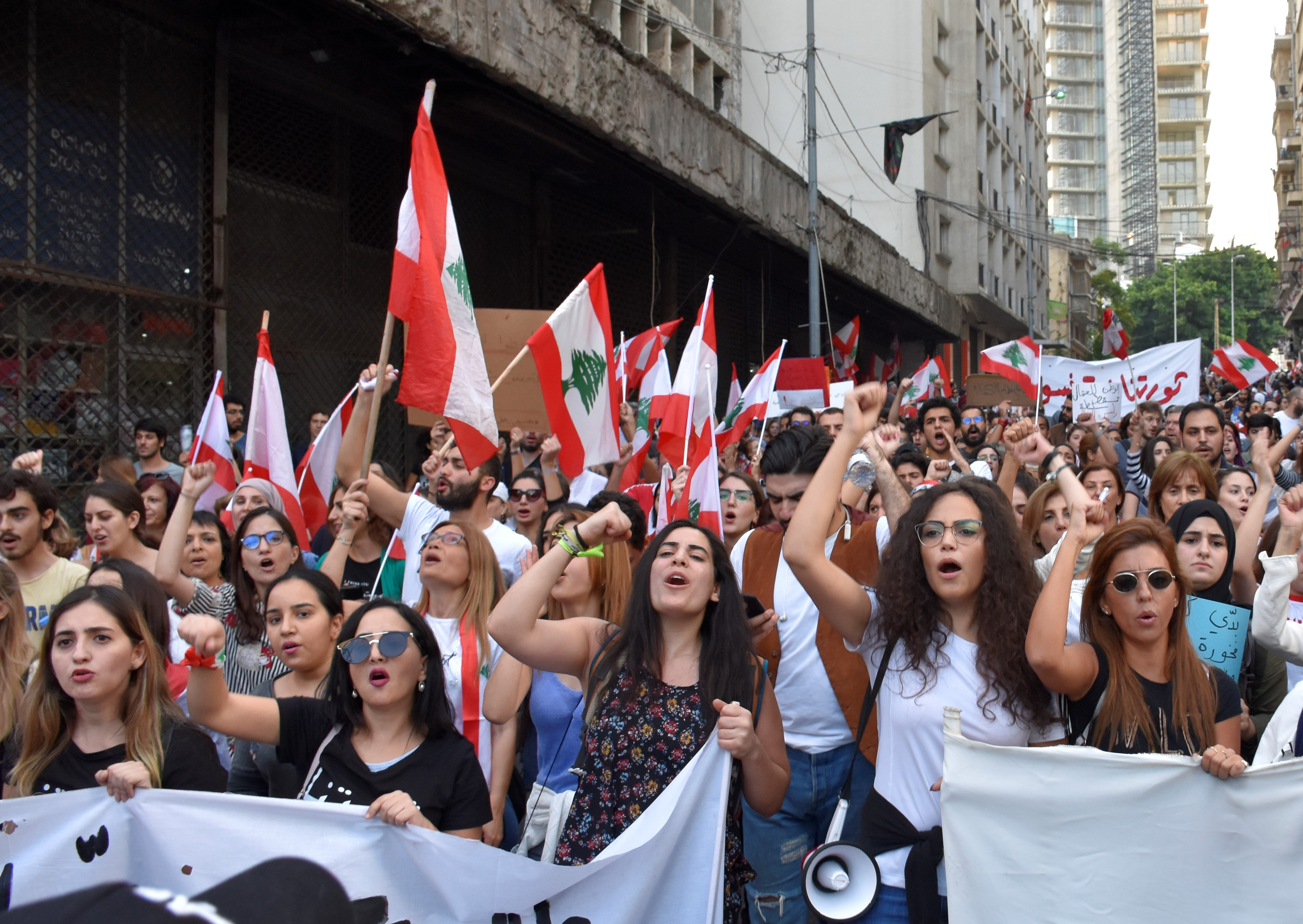 Women And Women S Rights Are Central To Lebanon S Protest