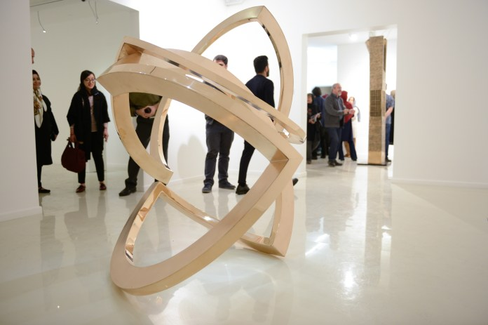 2017 Exhibition Parviz Tanavoli and Atelier Niavaran