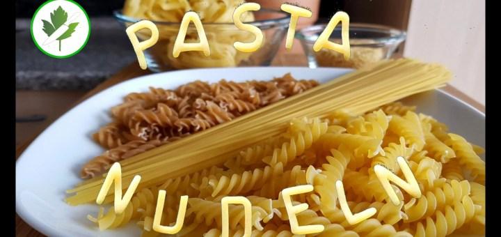 Pasta Auswahl