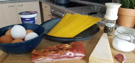 Zutaten Spaghetti Carbonara