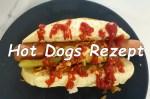 Hot Dog Brötchen Rezept
