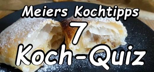 Meiers Koch Quiz 7