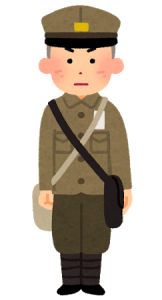 戦時中の男子学生