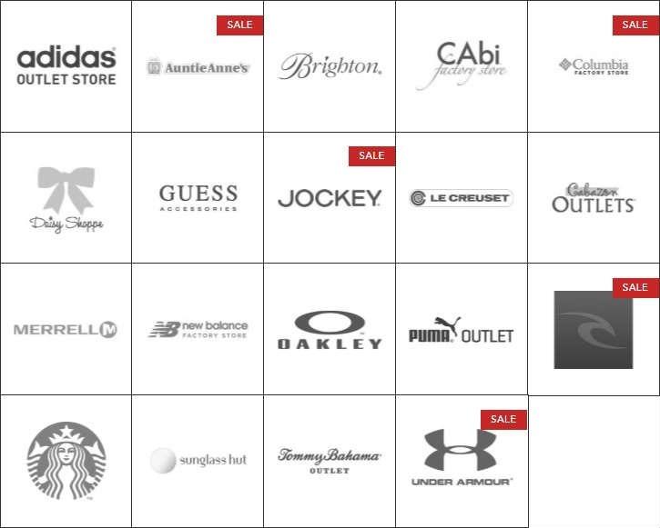 Cabazon Outlets 卡巴松奥特莱斯运动户外休闲品牌