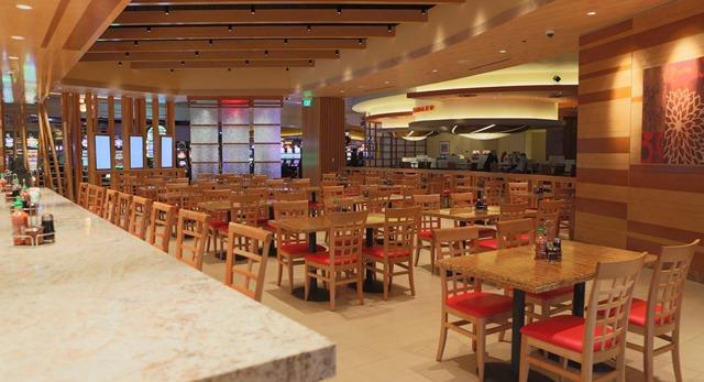 棕榈泉奥特莱斯附近餐饮 Morongo 赌场 Natural 9 Noodle Company 亚洲风味食物