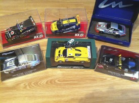 6 Slotcars met Nederlandse coureurs