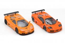 McLaren F1 GTR Ninco vs MR Slotcar
