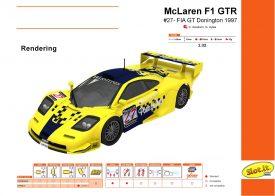McLaren F1 GTR #27 Donington 1997