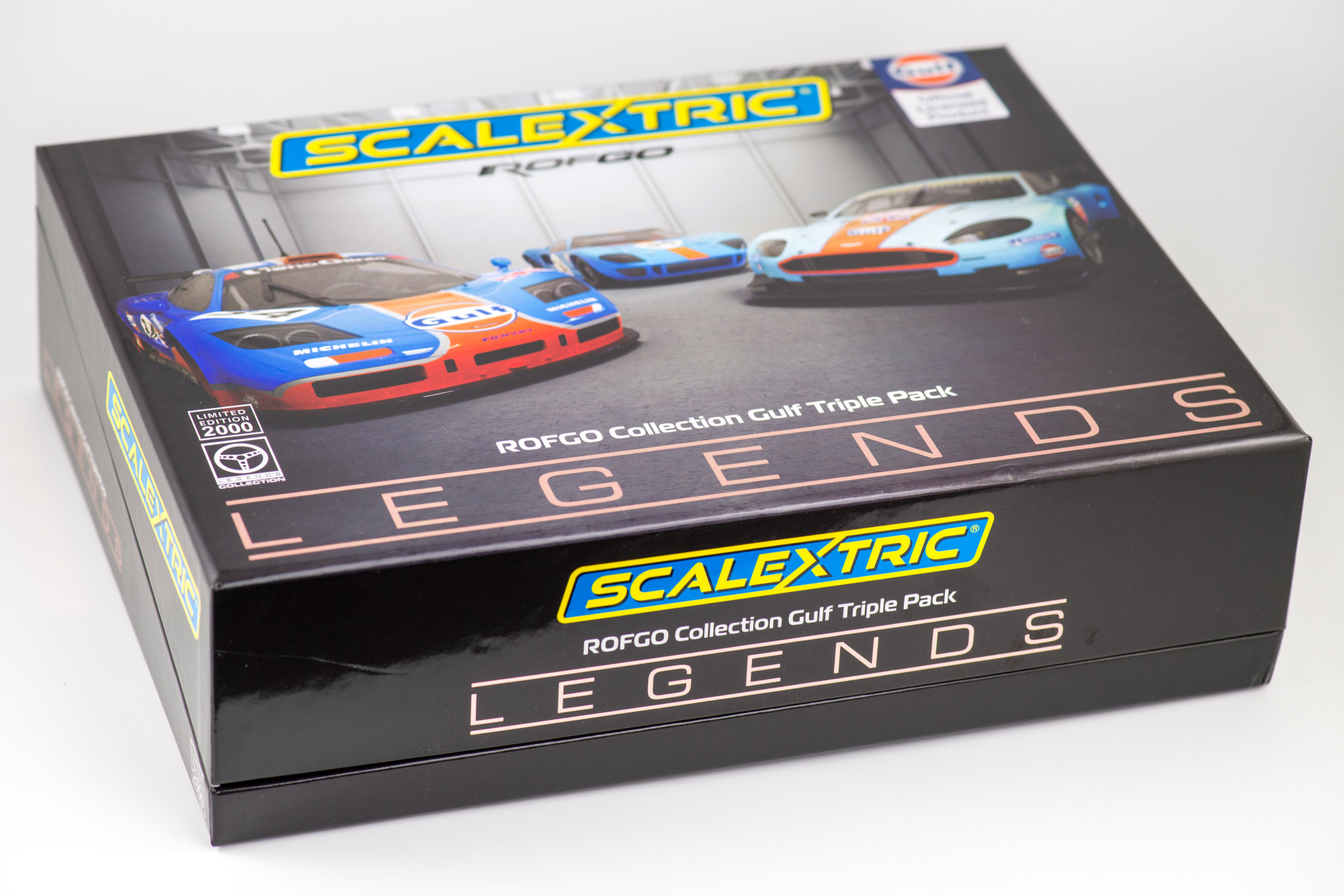 Scalextric ROFGO Collection Gulf Triple Pack