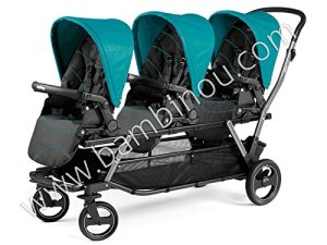 Peg Perego Pop-Up – Siège, couleur Bloom Scuba