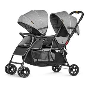 besrey poussette double de bébé pour 2 enfants d'âge rapprochés ( les frères et sœurs ) de 6 mois à 36 mois