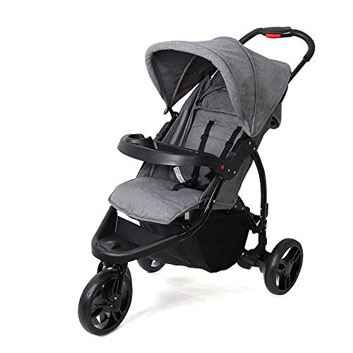 Maydolly Jogger Style Poussette 3 roues pliable