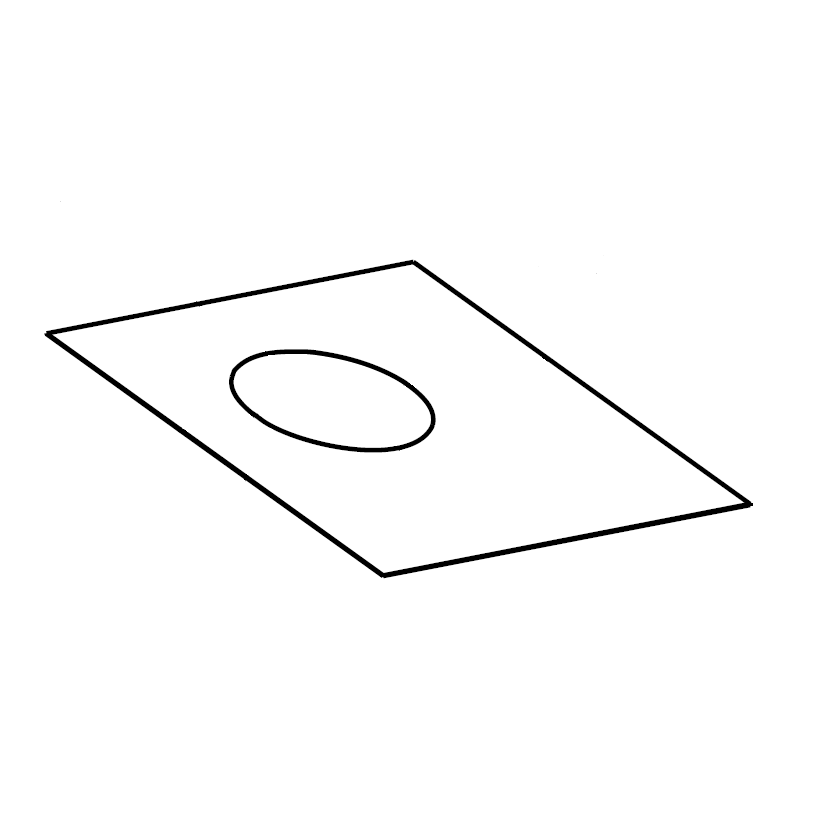 plaque de finition plafond sur mesures
