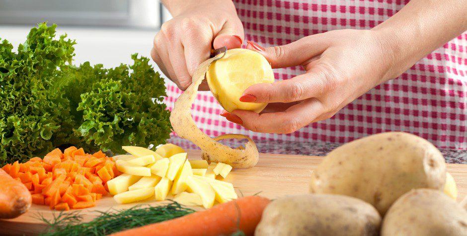 Éplucher les légumes