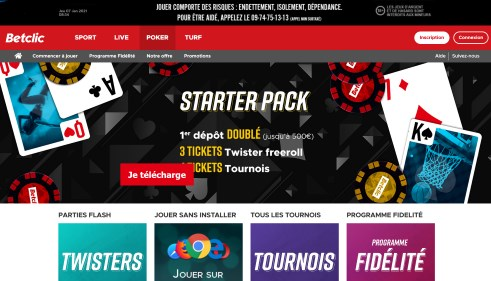 Betclic Poker Avis