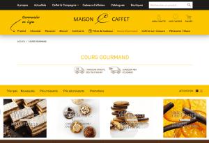 cours de pâtisserie de Pascal Caffet