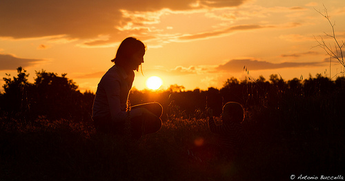 日落,Antonio Buccella拍摄