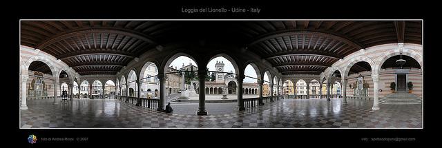 Loggia del Lionello, Udine,Andrea Rossi拍摄