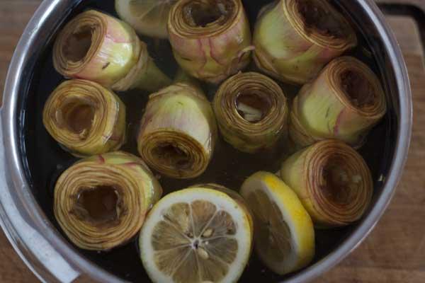 how to prepare artichokes-10