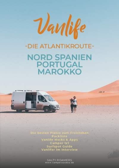 E Book Vanlife Atlantikküste Portugal Spanien Marokko