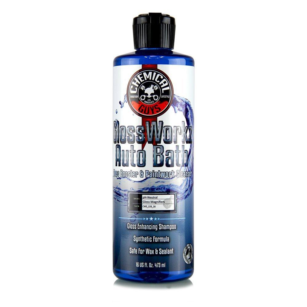 Chemical Guys Glossworkz 473ml Autoshampoo mit Glanzverstärker