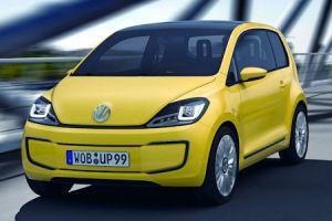 Dies ist die Studie des Elektroautos E-Up! von Volkswagen. Bildquelle: Volkswagen