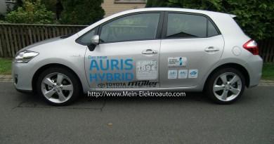 Hybridauto Auris Hybrid von Toyota ist ausverkauft