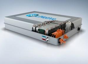 Die einzelnen Lithiumionen-Zellen werden zu Modulen gebündelt zu einem Batteriesystem zusammengefasst, solche Module sind die Grundlage für alle Elektroautos.