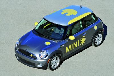 Elektroauto Mini-E Botschafter Diplomat Britisch Elektromobil