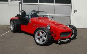 Elektroauto Roadster Tunen Tuner Irmscher Genfer Automobilsalon