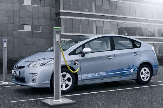 Der Toyota Prius (Plug-In Hybrid). Bildquelle: Toyota