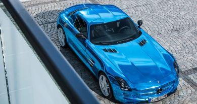 Symbolbild. Das Elektroauto Mercedes-Benz SLS AMG Coupé Electric Drive. Bildquelle: Mercedes-Benz
