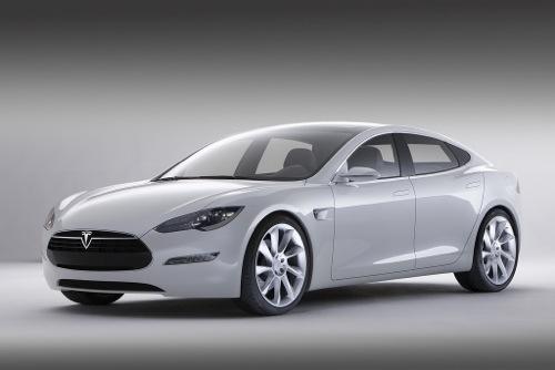 Elektroauto Tesla Model S von Tesla Motors. Bildquelle: Tesla Motors