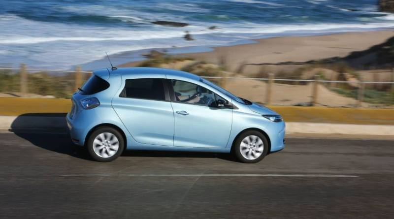Symbolbild. Elektroauto Renault Zoe. Bildquelle: Renault